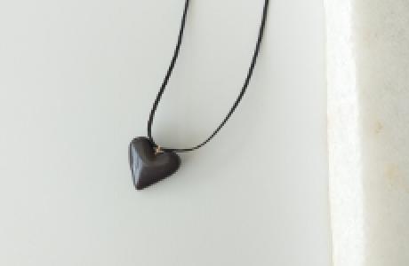 לב נקי גדול- שחור